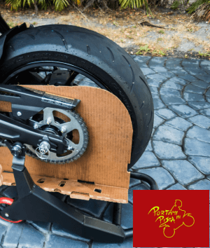 pulire catena moto